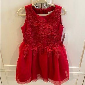 BCBGirls holiday red dress
